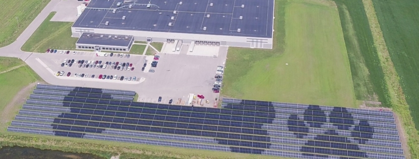 Pedigree Solar Panels Power entire Pet Food Facility